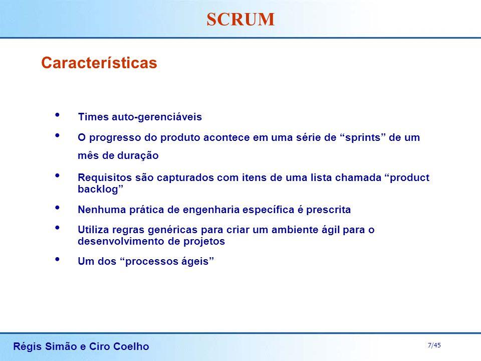 Características Times auto-gerenciáveis