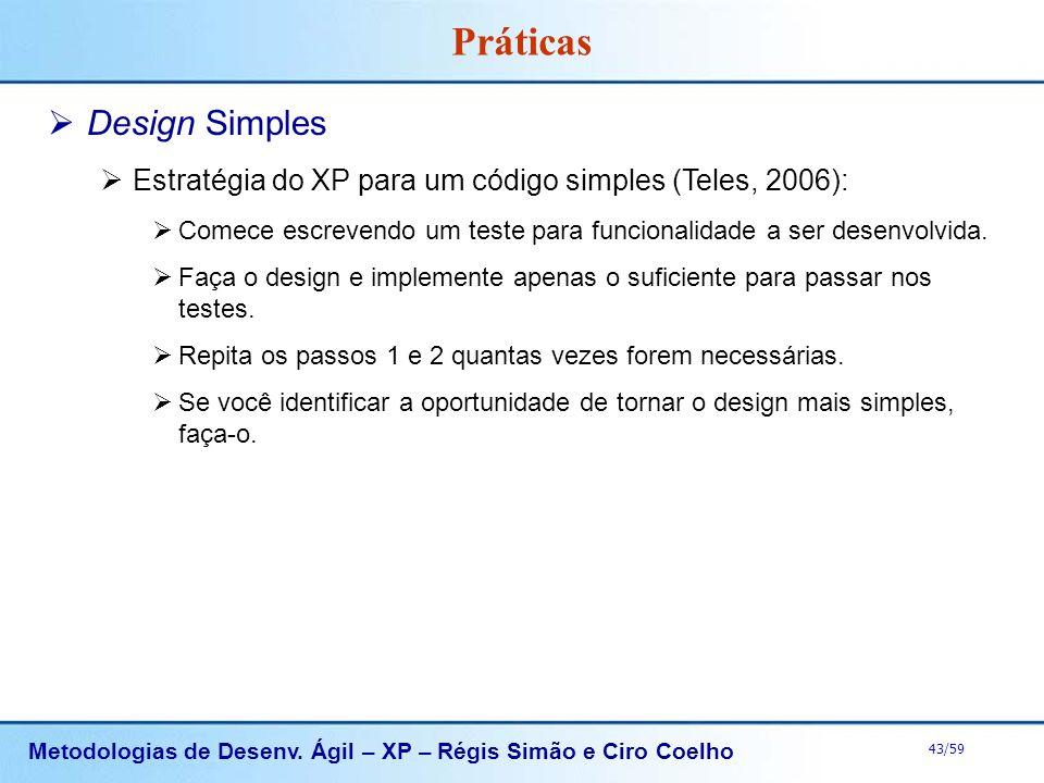 Práticas Design Simples