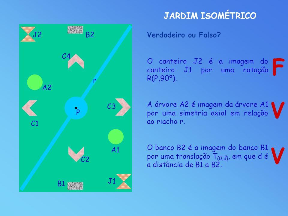 F V V JARDIM ISOMÉTRICO J2 B2 Verdadeiro ou Falso C4