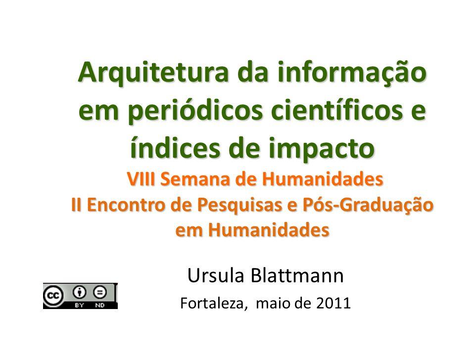 Ursula Blattmann Fortaleza, maio de 2011