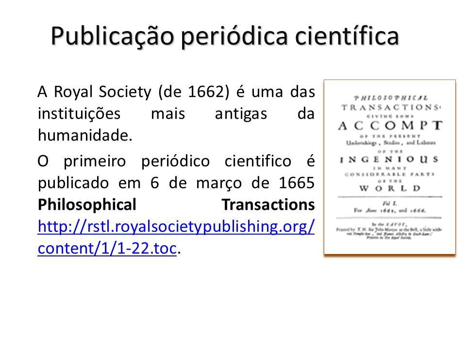 Publicação periódica científica