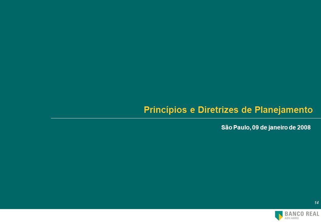 Princípios e Diretrizes de Planejamento