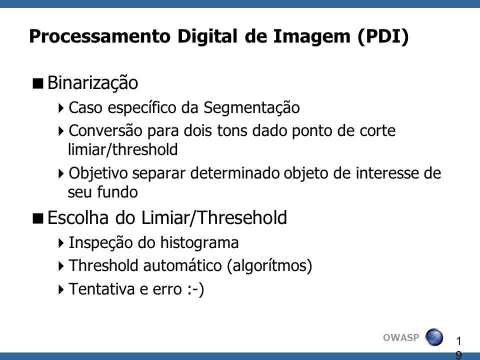 Processamento Digital de Imagem (PDI)