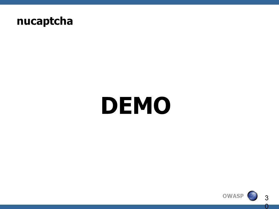 nucaptcha DEMO