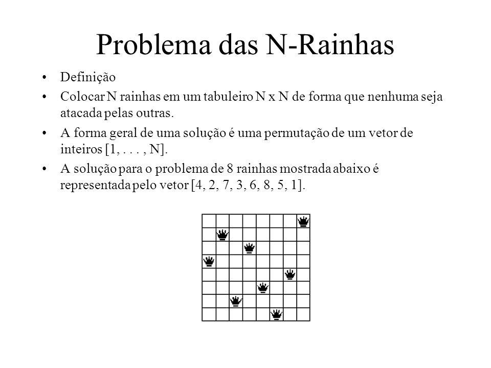 Problema das N-Rainhas