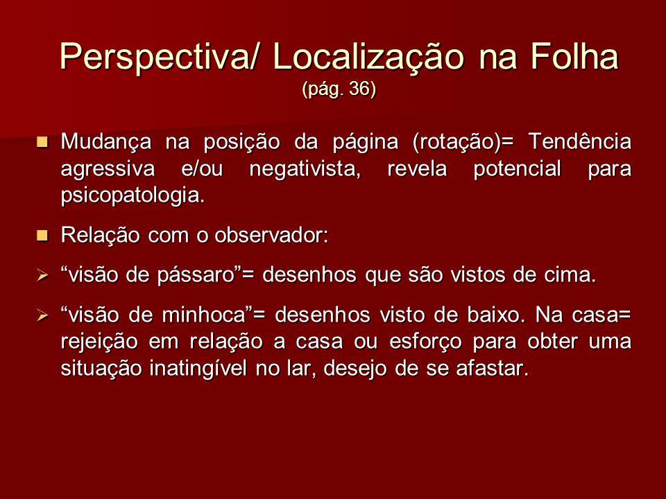 Perspectiva/ Localização na Folha (pág. 36)