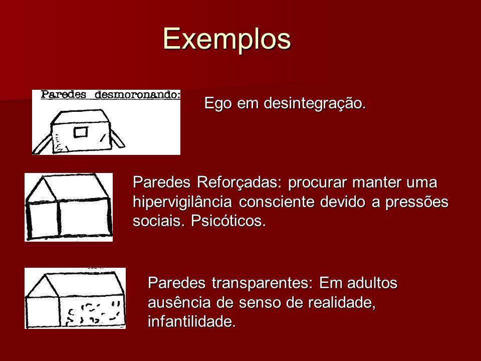Exemplos Ego em desintegração.