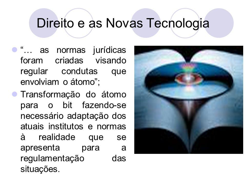 Direito e as Novas Tecnologia
