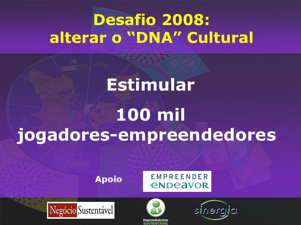alterar o DNA Cultural jogadores-empreendedores