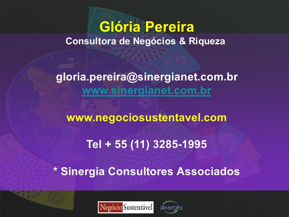 Consultora de Negócios & Riqueza * Sinergia Consultores Associados