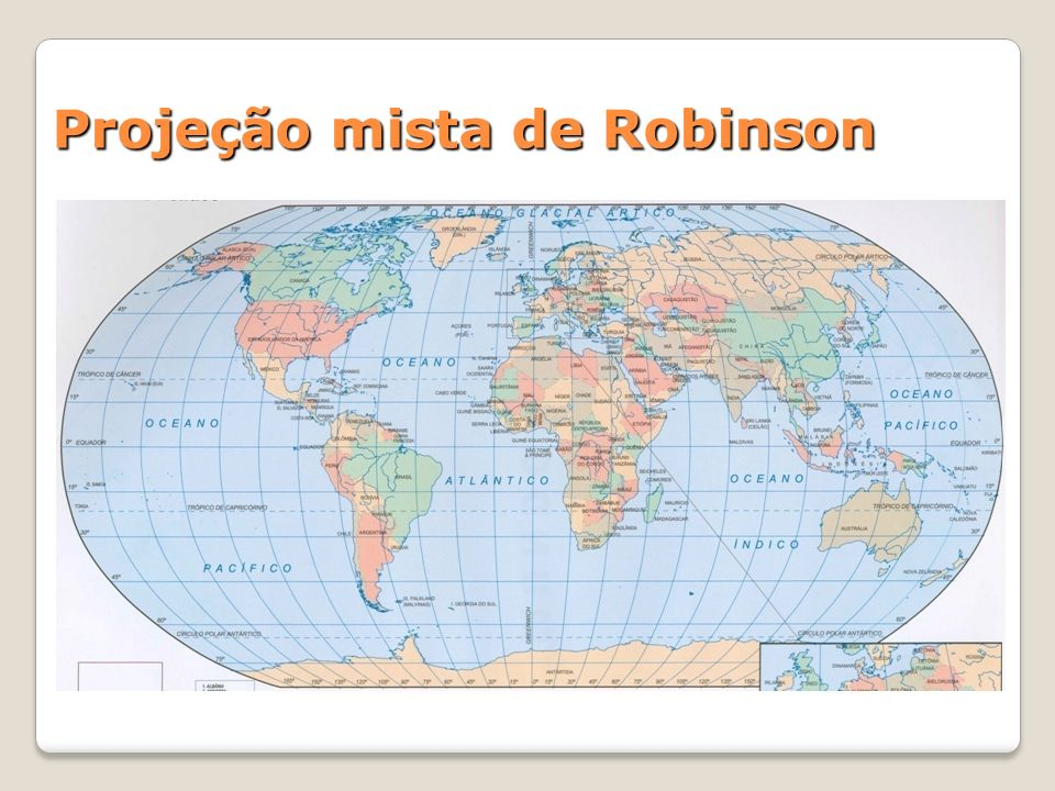 Projeção mista de Robinson