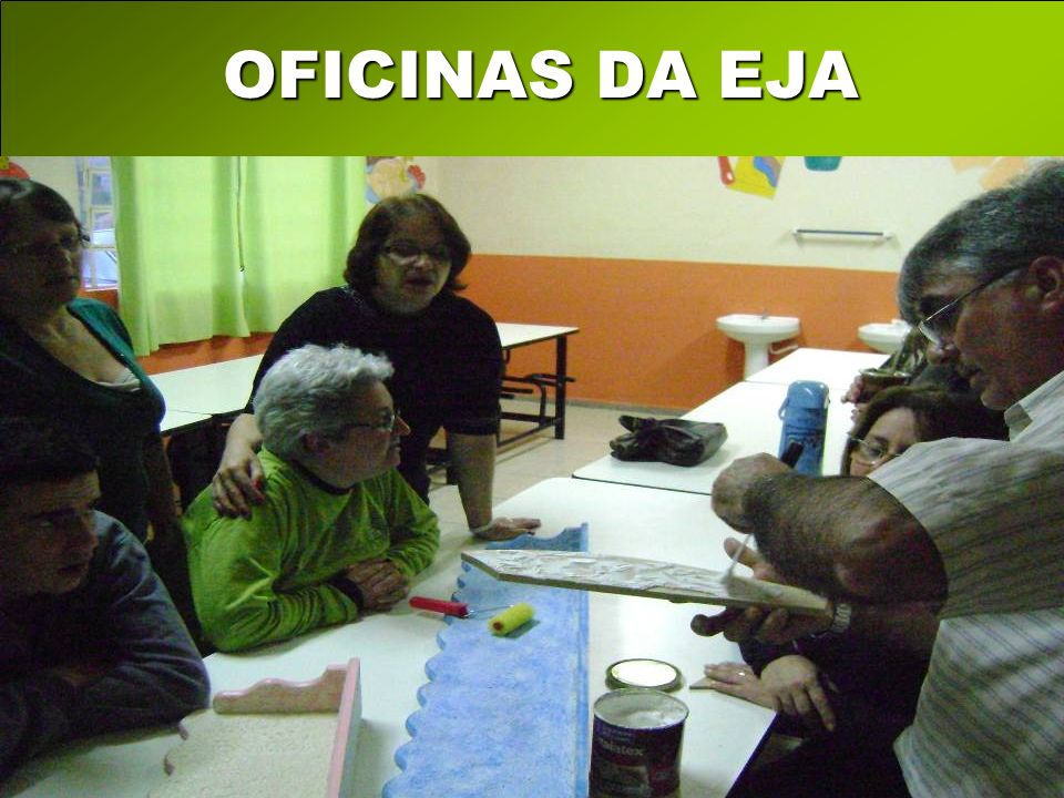 OFICINAS DA EJA