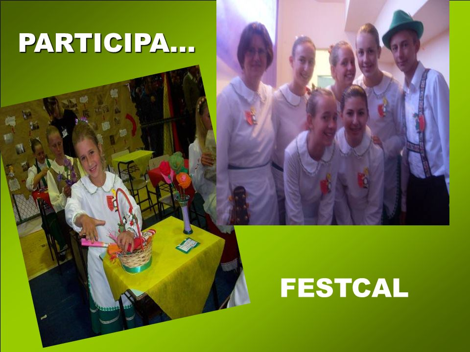 PARTICIPA... FESTCAL