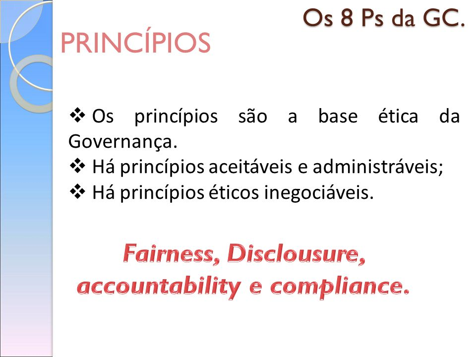 accountability e compliance.