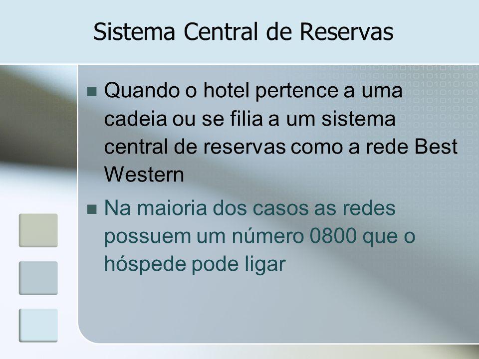Sistema Central de Reservas