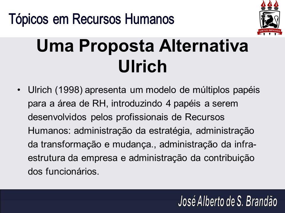 Uma Proposta Alternativa Ulrich