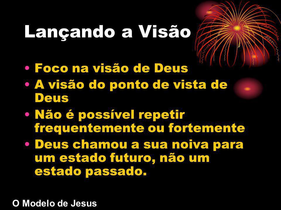 Lançando a Visão Foco na visão de Deus