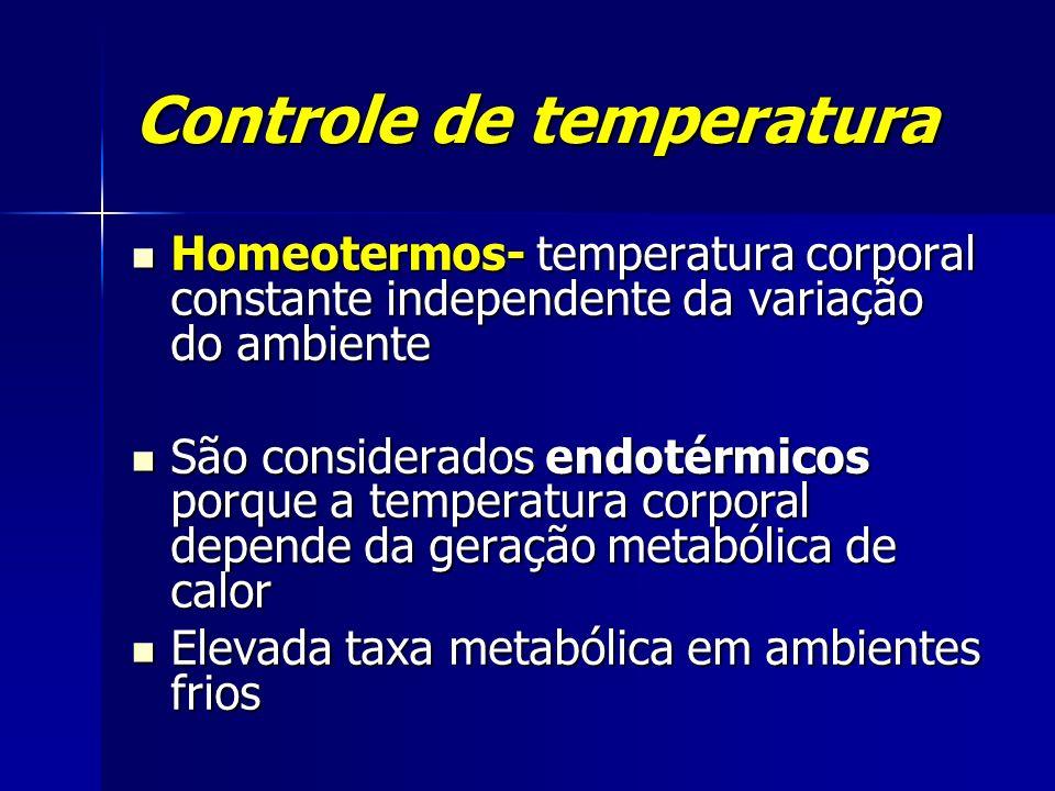 Controle de temperatura