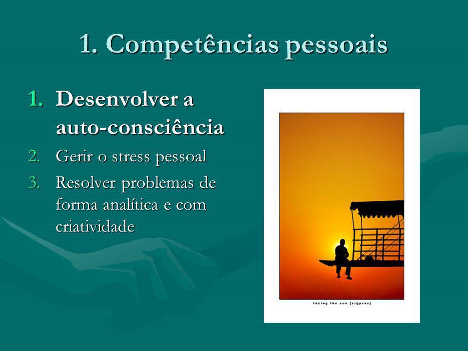 1. Competências pessoais