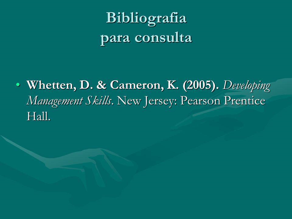 Bibliografia para consulta