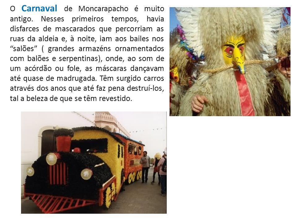 O Carnaval de Moncarapacho é muito antigo