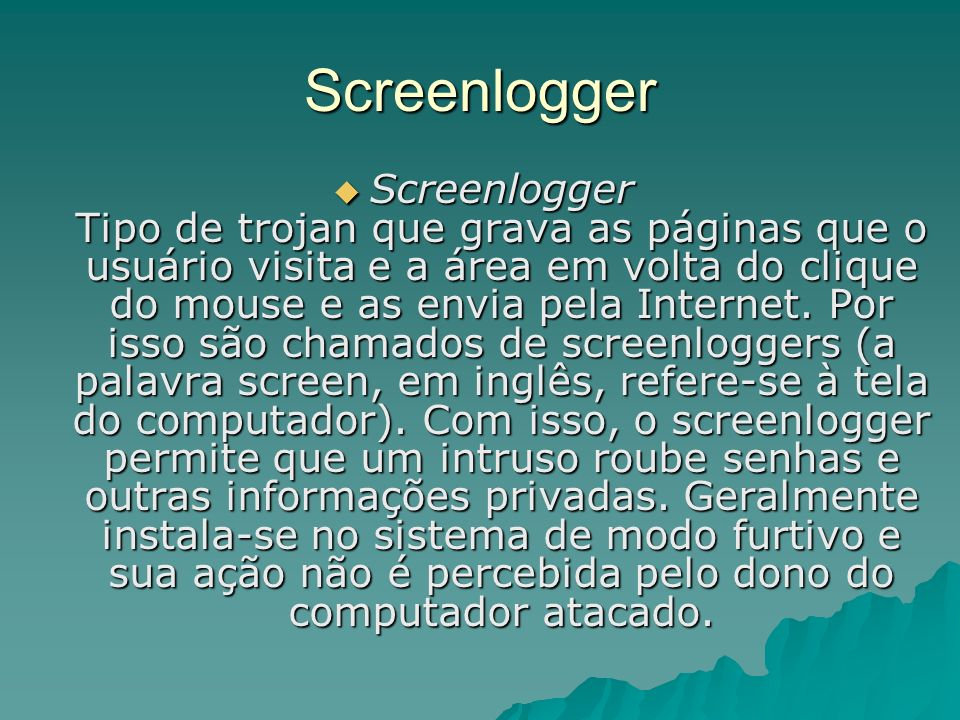 Screenlogger