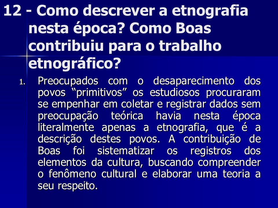 12 - Como descrever a etnografia nesta época
