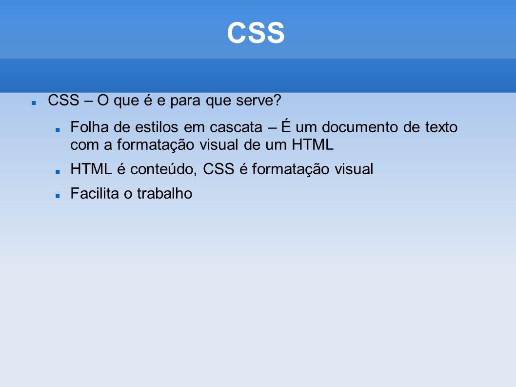 CSS CSS – O que é e para que serve