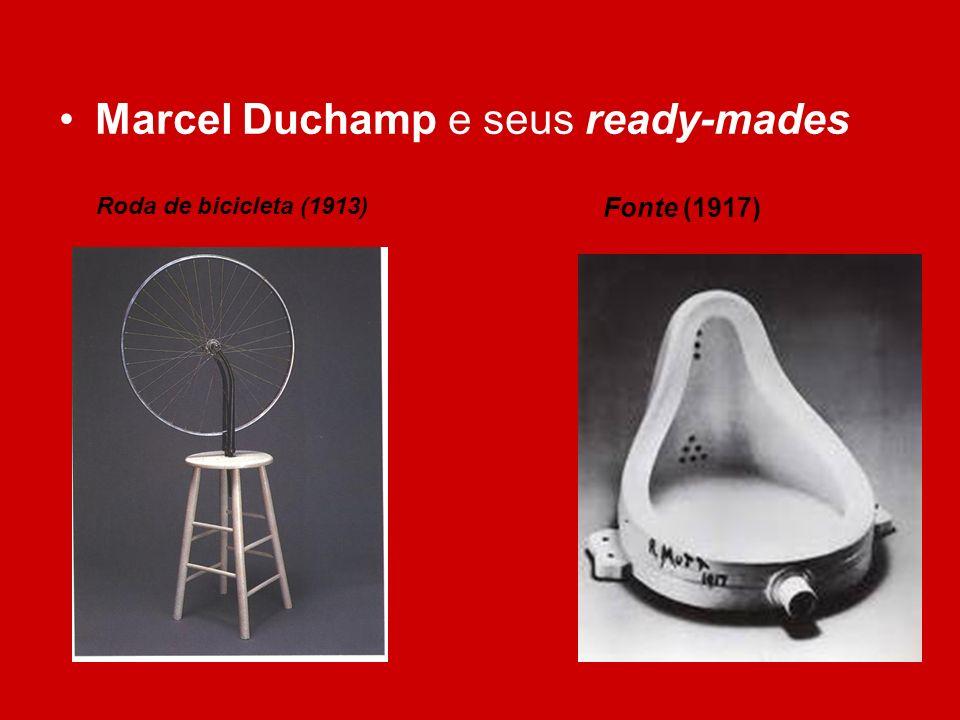 Marcel Duchamp e seus ready-mades