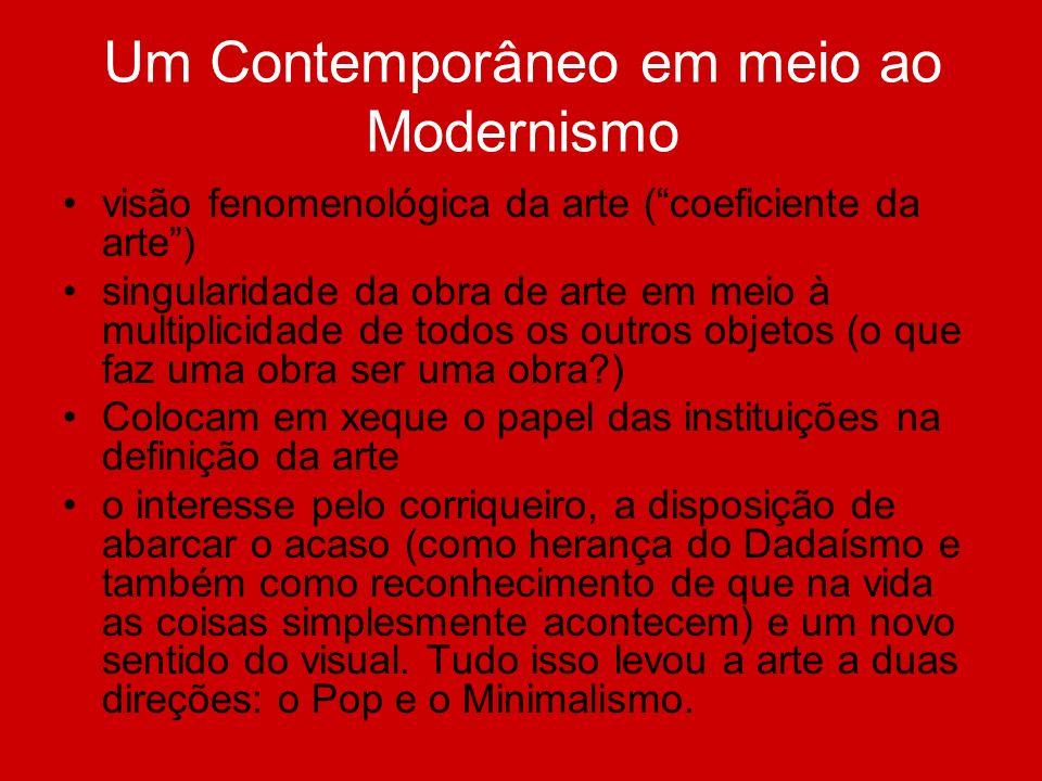 Um Contemporâneo em meio ao Modernismo