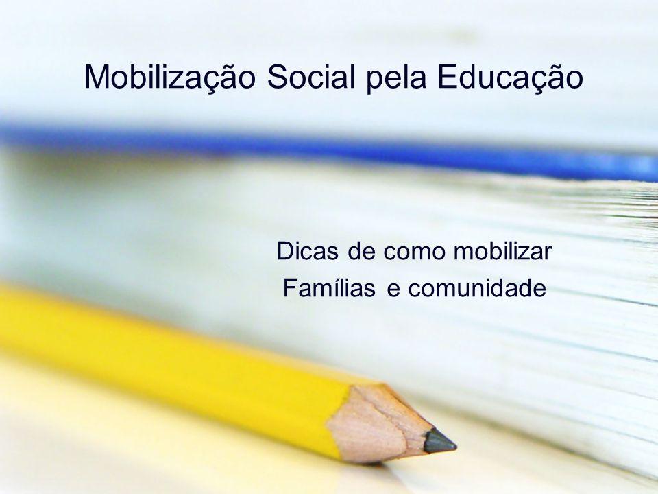 Mobilização Social pela Educação