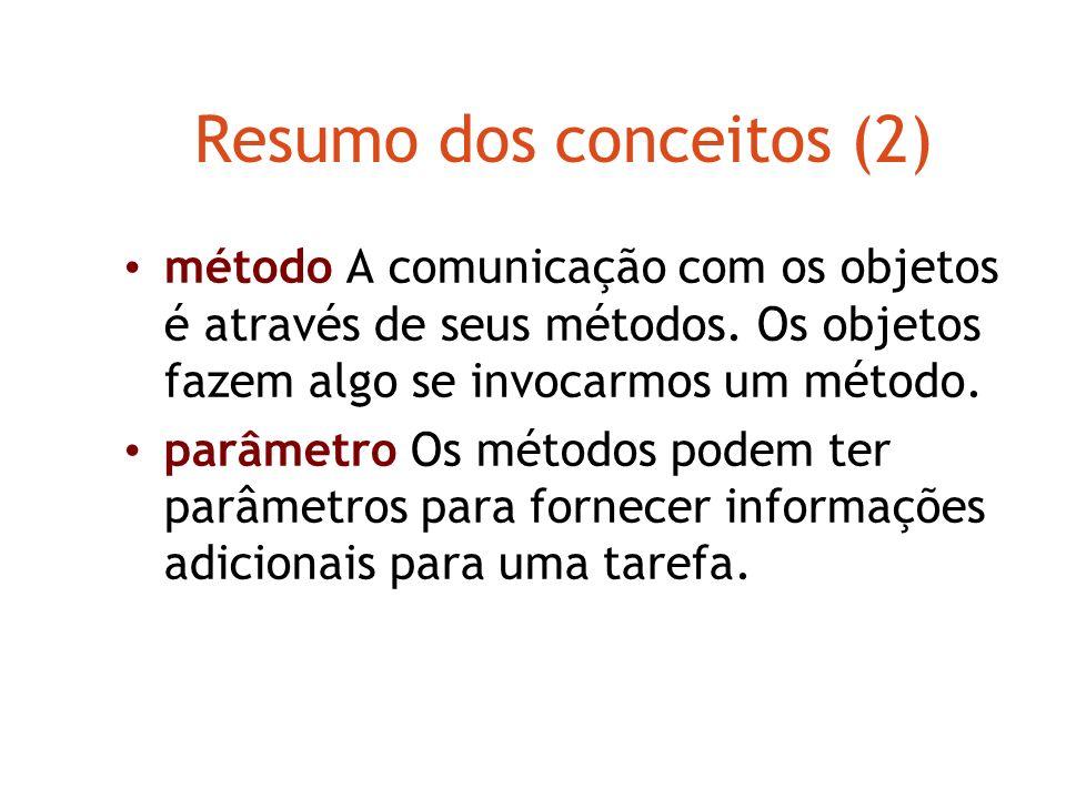 Resumo dos conceitos (2)