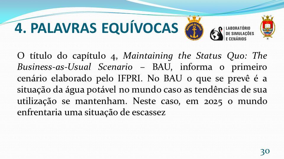 4. PALAVRAS EQUÍVOCAS