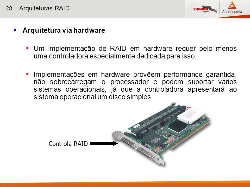 Arquitetura via hardware