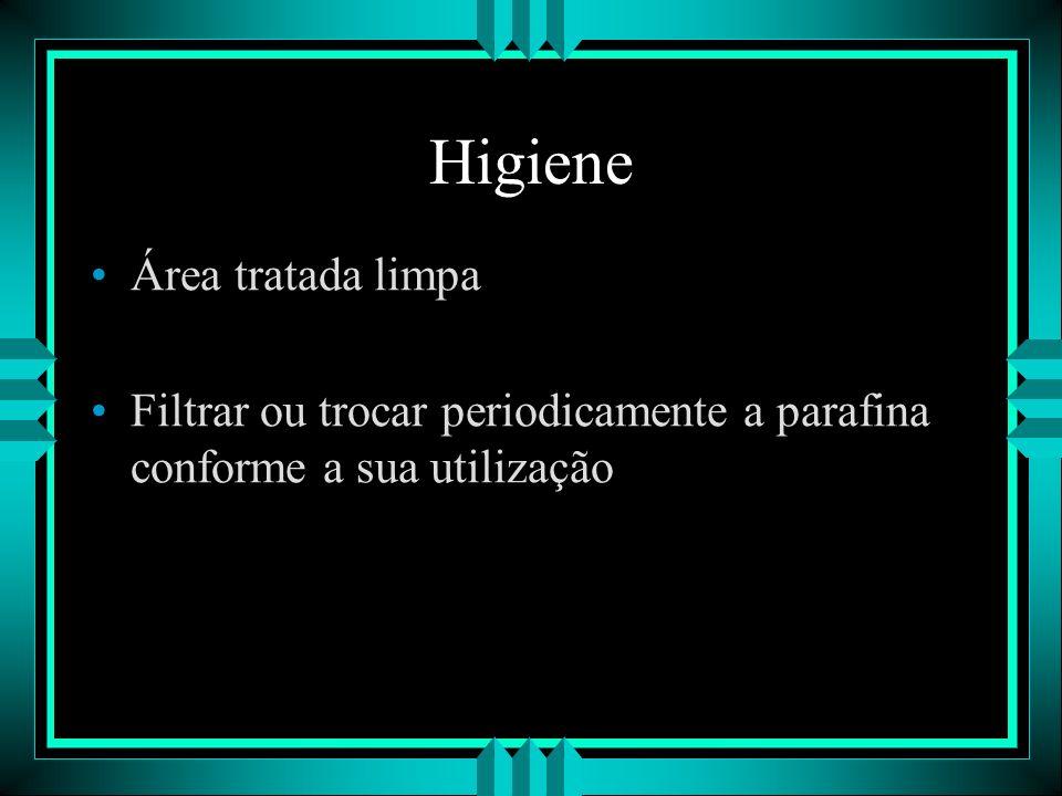 Higiene Área tratada limpa