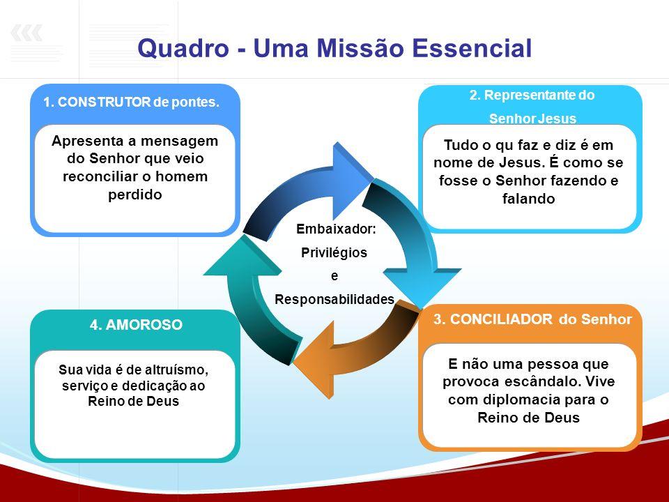 Quadro - Uma Missão Essencial