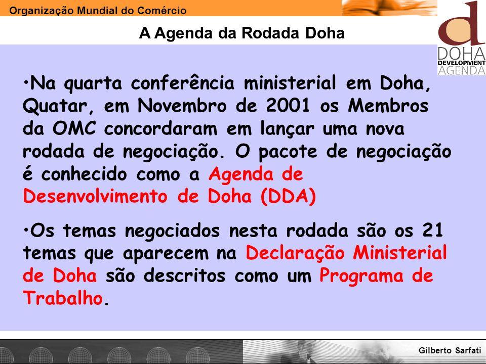 A Agenda da Rodada Doha