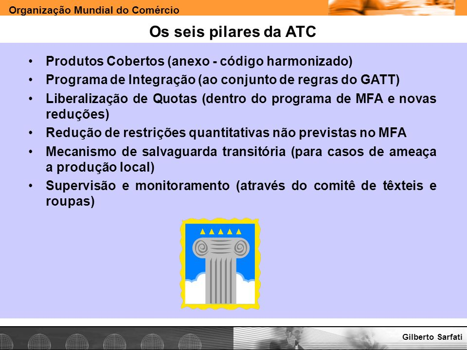 Os seis pilares da ATC Produtos Cobertos (anexo - código harmonizado)