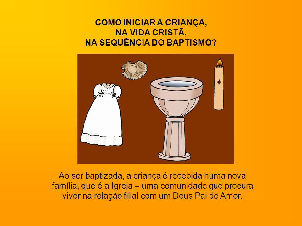 NA SEQUÊNCIA DO BAPTISMO