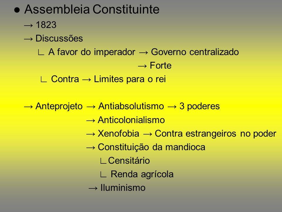 ● Assembleia Constituinte