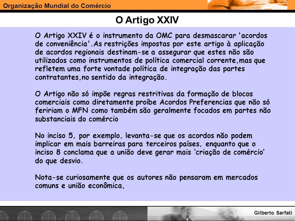 O Artigo XXIV