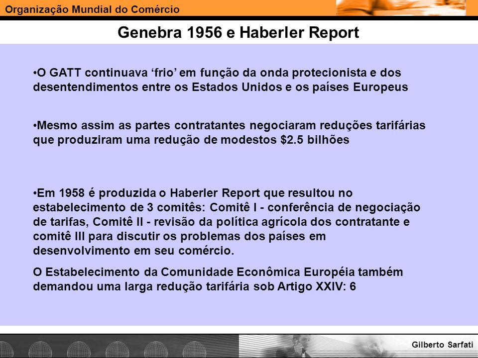 Genebra 1956 e Haberler Report