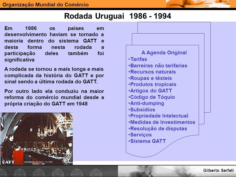 Rodada Uruguai 1986 - 1994