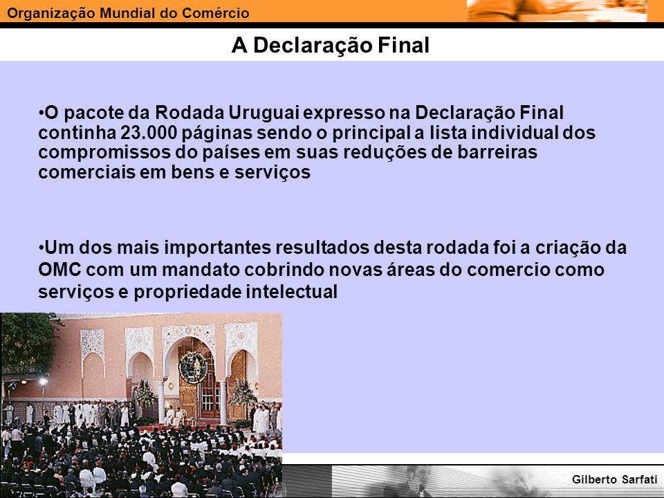 A Declaração Final