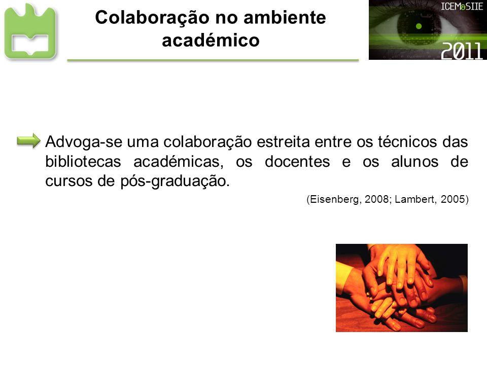 Colaboração no ambiente académico