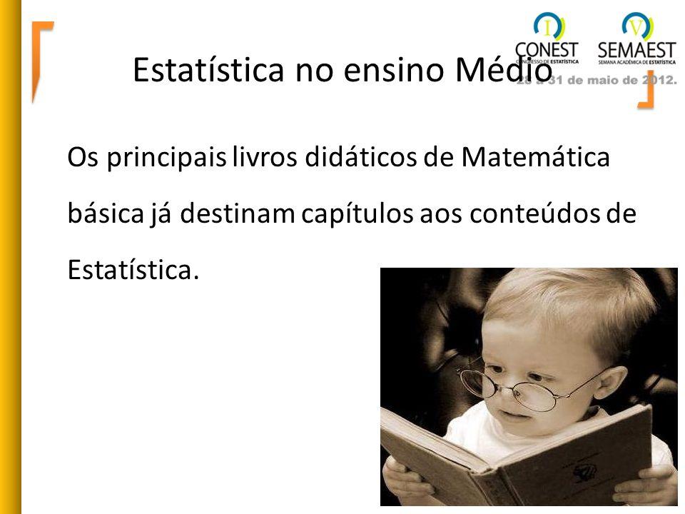 Estatística no ensino Médio