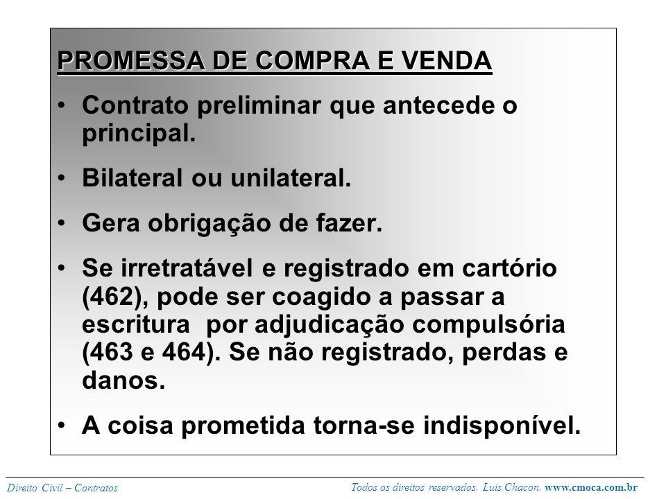 PROMESSA DE COMPRA E VENDA