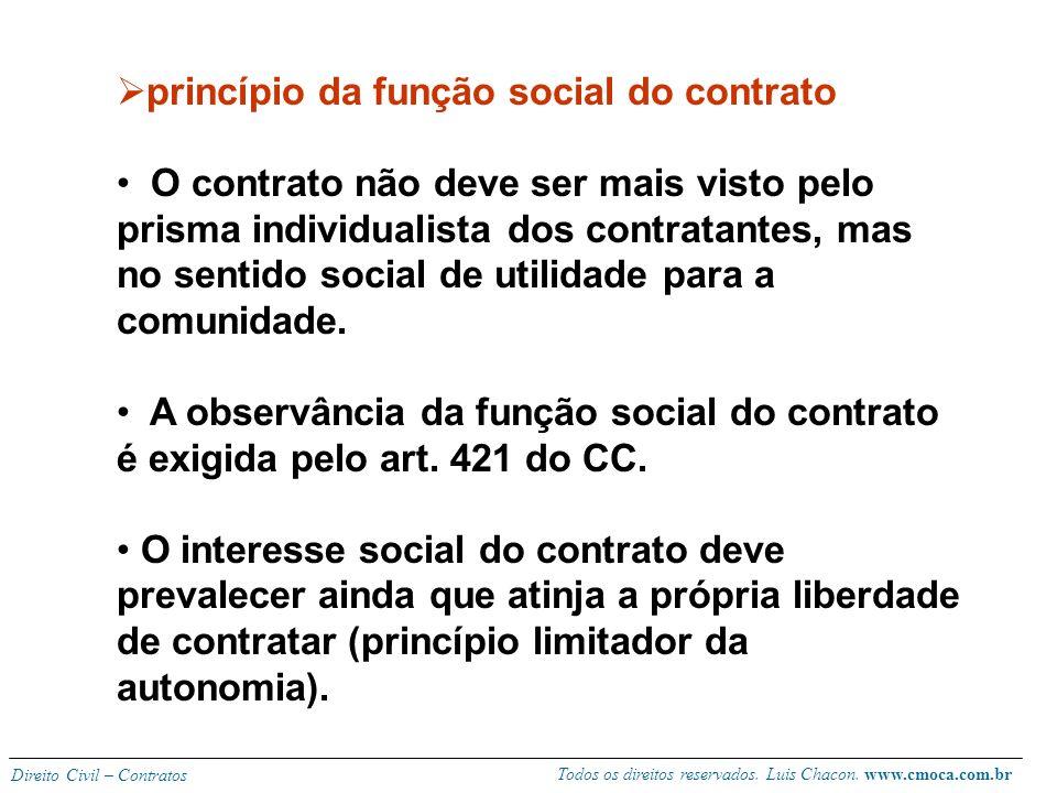 princípio da função social do contrato