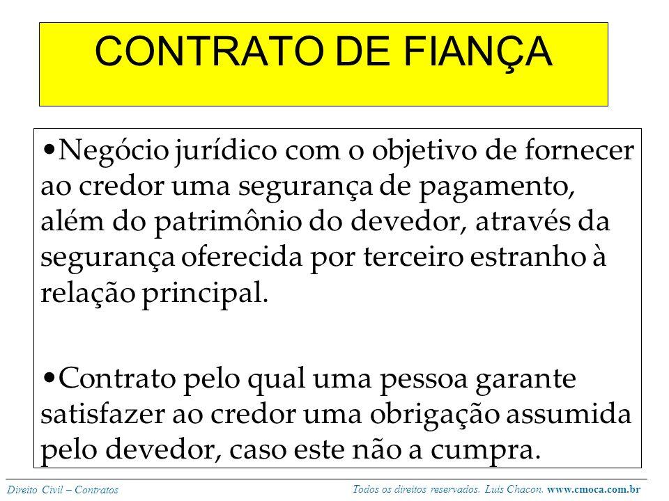 CONTRATO DE FIANÇA