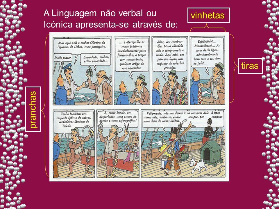 A Linguagem não verbal ou